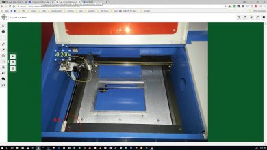 Photo of Setting Custom Bed Size For The Cohesion3d Mini