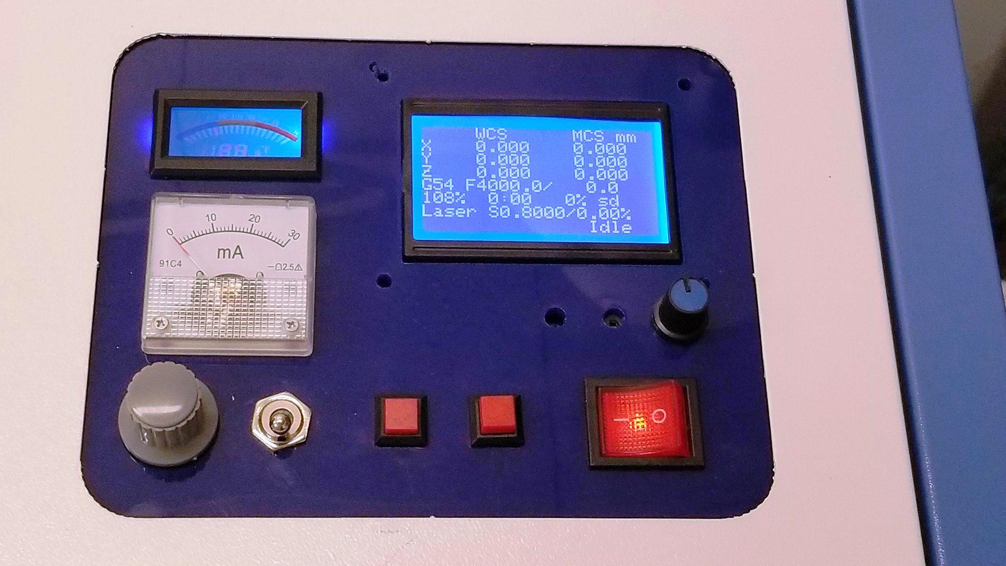 K40 Laser Custom Panel Ideas - LaserGods com
