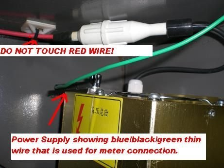 Picture of Do Not Touch the Red Wire.