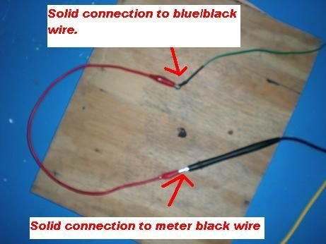Picture of More Cable Connections Located in the Center of the Insulating Board
