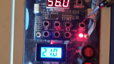 Photo of My Initial Chiller Test