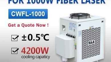 Photo of Industrial Water Chiller Unit for 1000W Fiber Laser