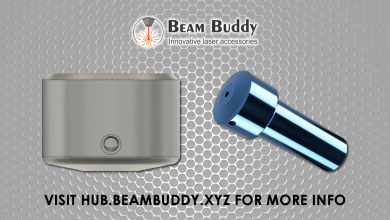 Photo of The Beam Buddy High Resolution Laser Head
